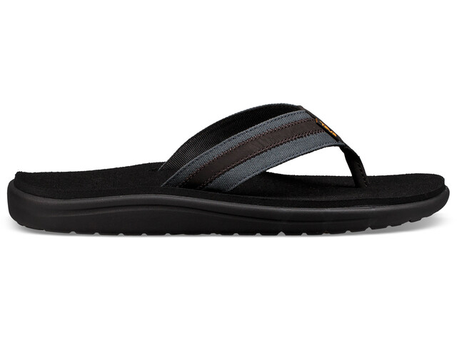 Teva M's Voya Canvas Flip Sandals Dark Shadow